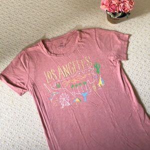 J. Crew Los Angeles Collection Tees